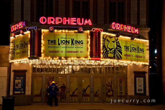 Lion King - Orpheum Theater, Minneapolis
