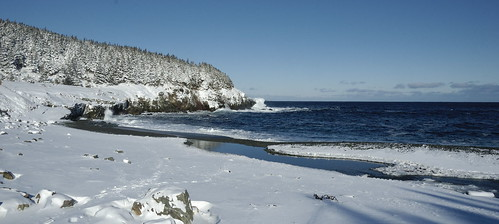 Snow at Middle Cove