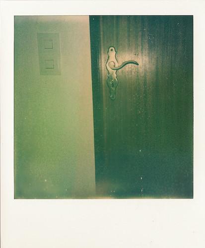 polaroid door