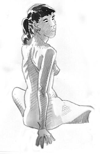 Figure Drawing, 11.11.22 - 2