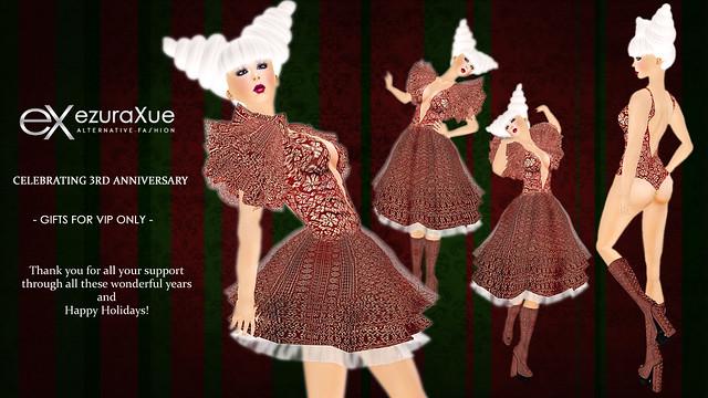 + eX + 3rd Anniversary VIP Gift *Dress