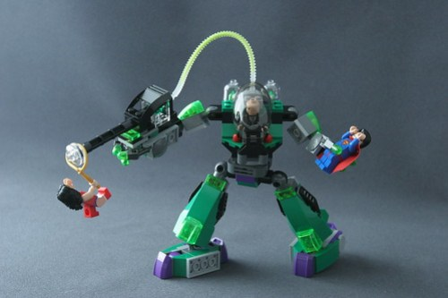 6862 Superman vs Power Armor Lex 10