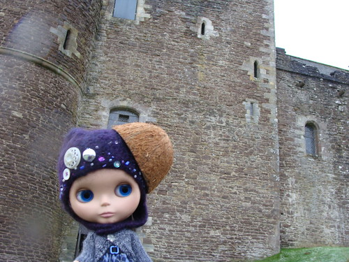 Laurel at Doune Castle