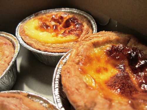 Egg tarts from Annie