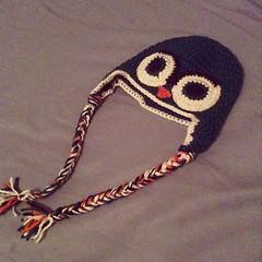 Riley's Owl Hat