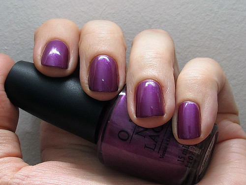 O.P.I. Plugged-in Plum