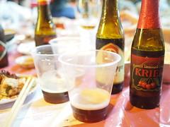 La Trappe Double and Lindeman's Kriek, Craft Beer + Zi-Char Pairing Dinner
