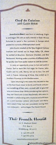 The French Hound menu-2
