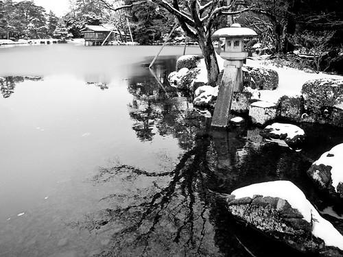 Kasumigaeki lake 金沢