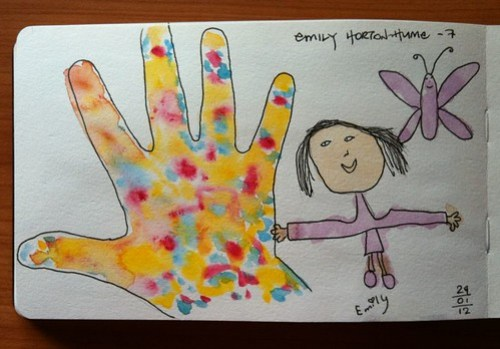 9-2012 // my little friend Emily