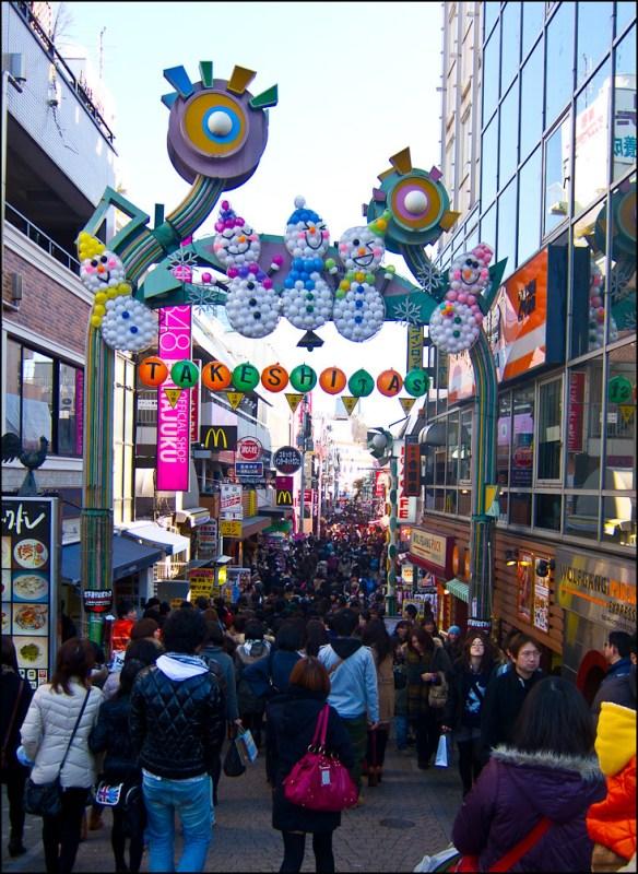 idol shop en Takeshita dori