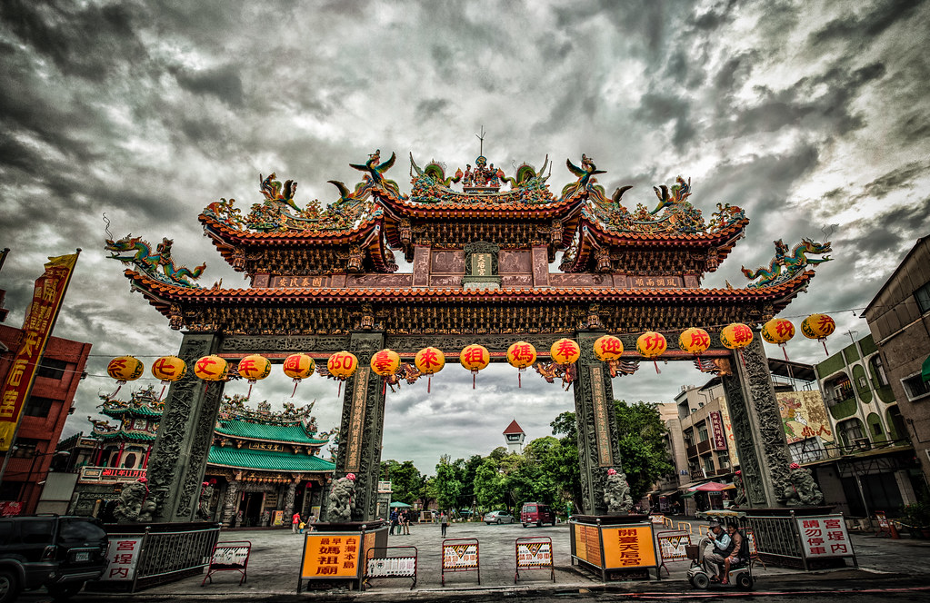 Kaitai Tianhou Temple Panoramic