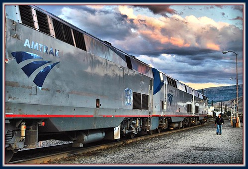 Empire Builder @ Wenatchee wa by Loco Steve