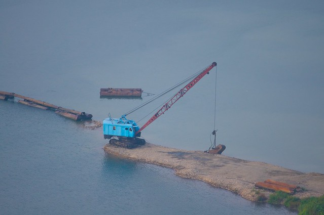 North Korean River Dredge