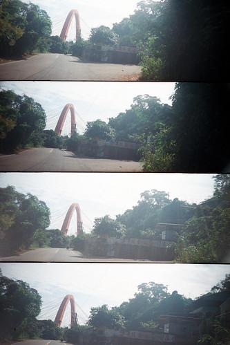 Ride up Baguashan