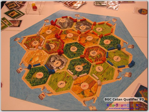 BGC Settlers of Catan 2011 - Qualifier #3