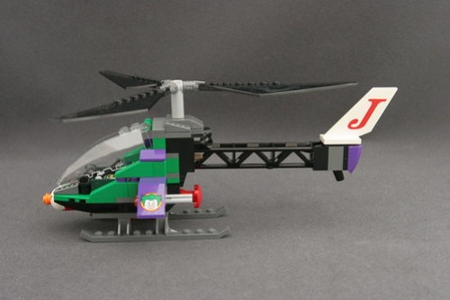 6863 Batwing Battle Over Gotham City - Joker's Helicopter 3