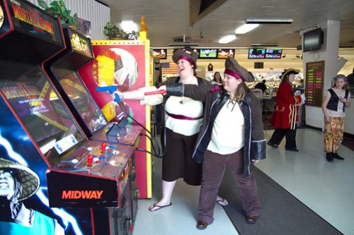 Playing Arcade Games