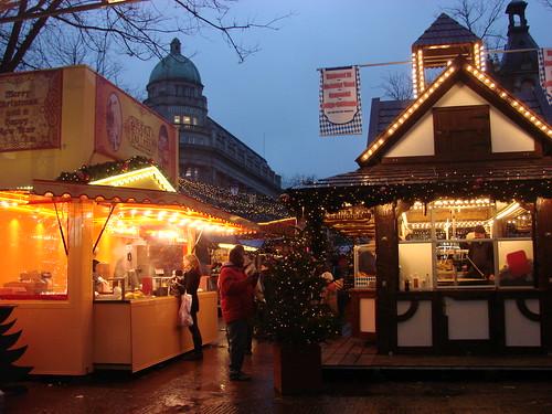 Kerstmarkt in Amsterdam