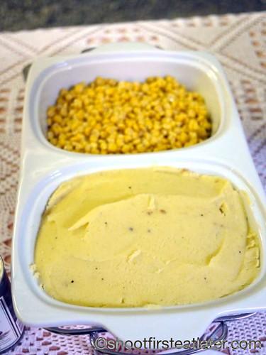 New Year's Eve 2011- Roasted Garlic Mashed Potatoes &  Corn