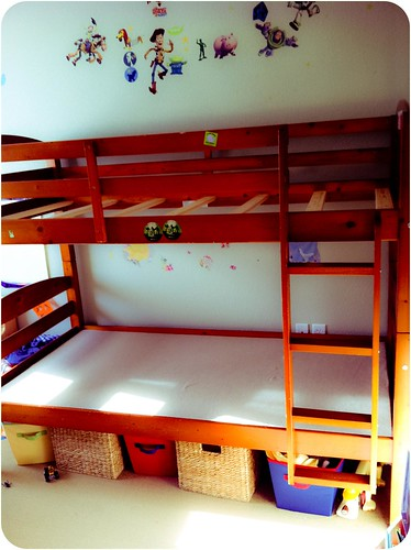 Bunkbeds coming down!