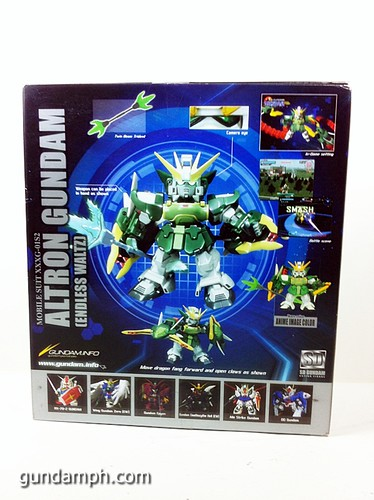 SD Gundam Online Capsule Fighter ALTRON Toy Figure Unboxing Review (2)
