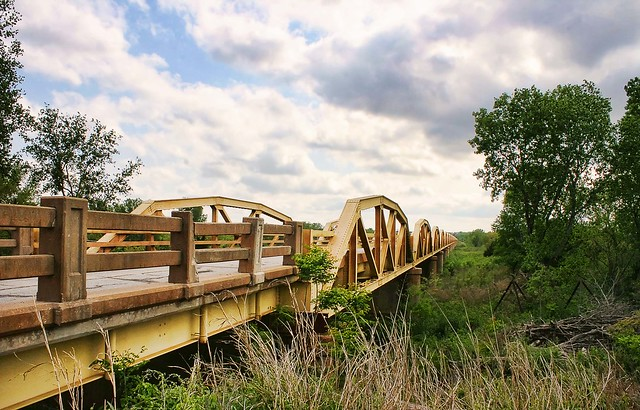 1933 Pony Bridge, Route 66, Bridgeport Oklahoma. Photo copyright Jen Baker/Liberty Images; all rights reserved.