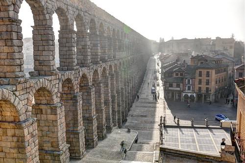 Acueducto de Segovia, España (HDR)