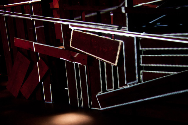 mayer+empl . AP . video mapping installation . munich . 2011