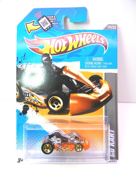 hot wheels go kart orange (2)