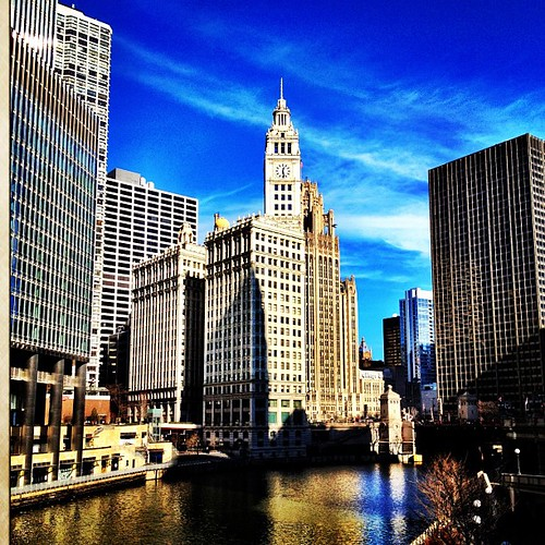 Instagram 28 Day Photo Challenge Day 26- Something Old (Wrigley Building, circa 1921)