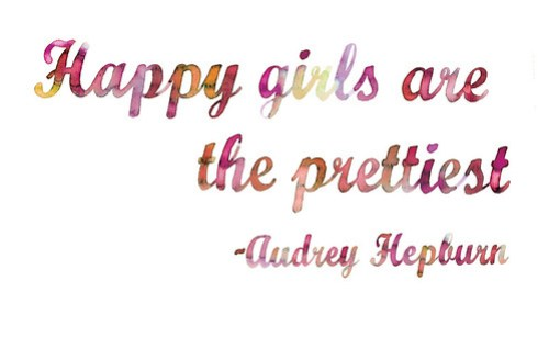 Happy-girls-are-the-prettiest-quote