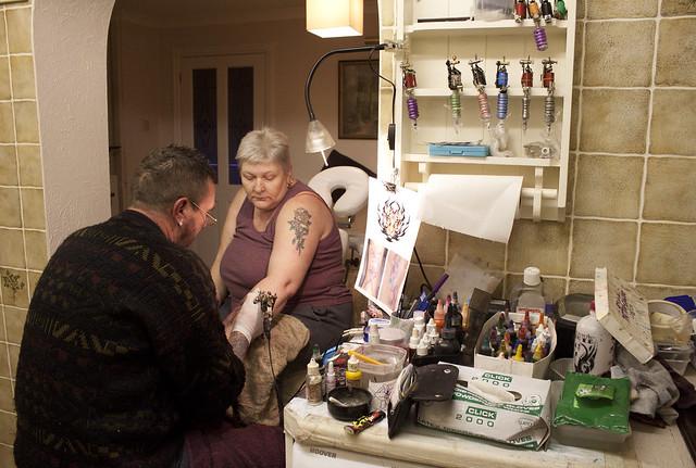 Tattoo Photo Essay - The Kitchen