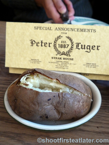 Peter Luger Steak House- baked potato