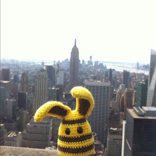 #yellow en haut du rockfeller center