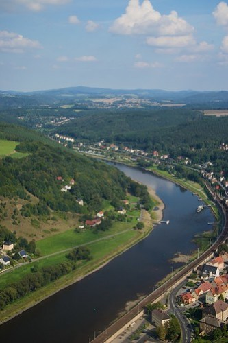 View from K�nigstein Fortress