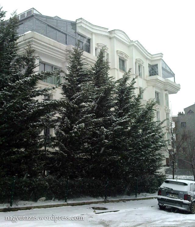 A török hó: Téli pillanatképek Ankarából