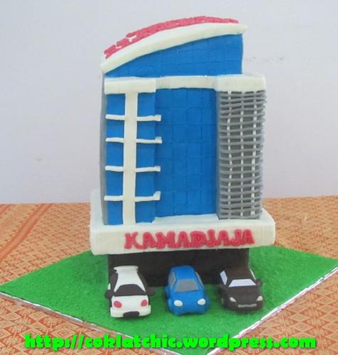 Cake Gedung Kamandjaja