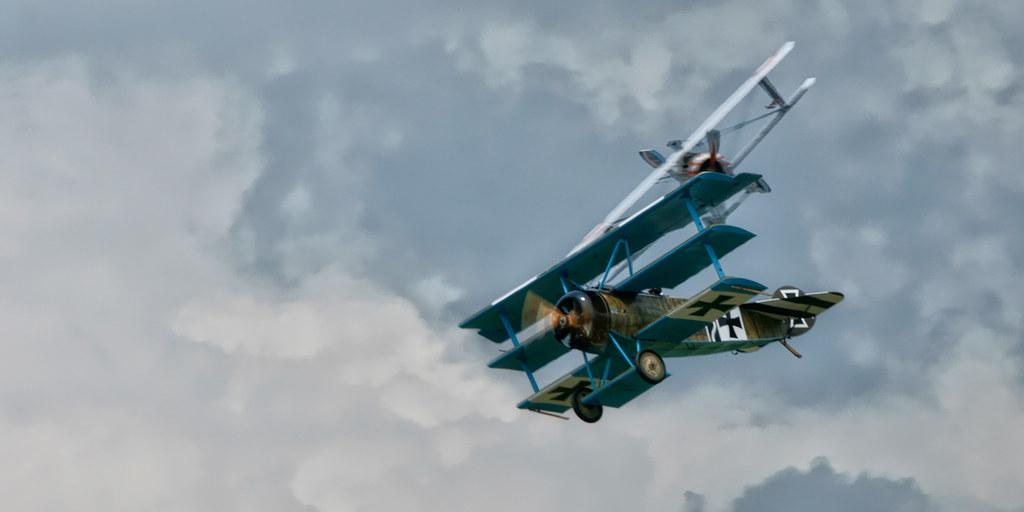 Check six! Fokker Dr.I