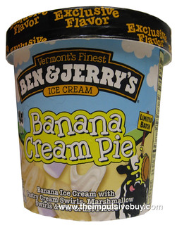 Ben & Jerry's Ice Cream Banana Cream Pie