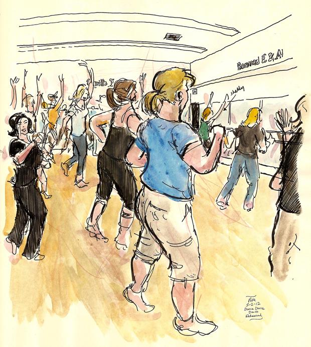 DanceDanceDavis rehearsal