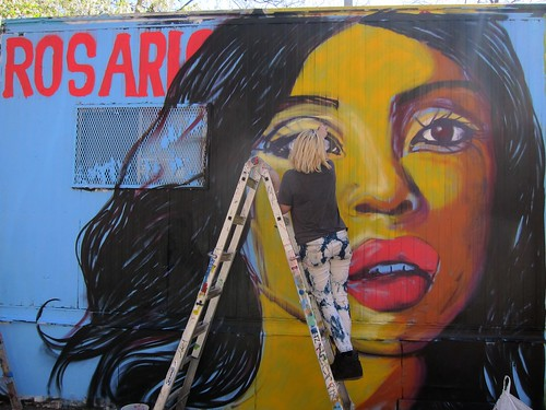 Centre-fuge Public Art Project, Cycle 13: Lexi Bella does Rosario Dawson