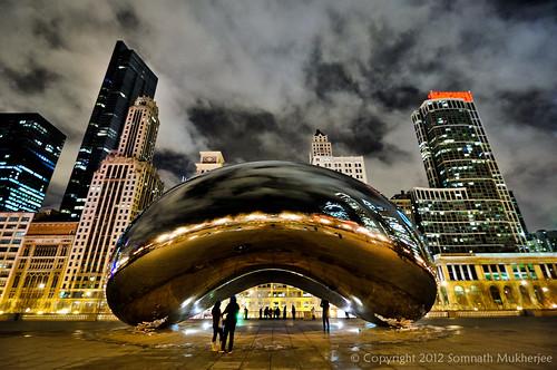 Cloud Gate (The Bean) | Millennium Park | Chicago by Somnath Mukherjee Photoghaphy