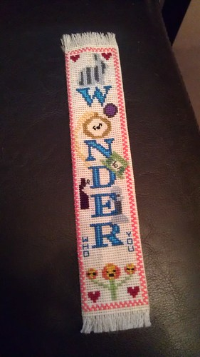 Wonder bookmark all finished!