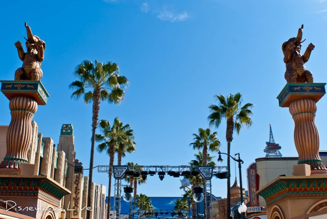Hollywood Land Entrance, Disney California Adventure