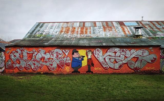 Haileypark Boilerhouse Graffiti