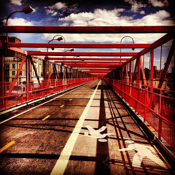 The Williamsburg Bridge - Lower East Side - New York City