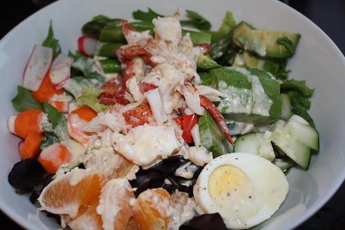 Lobster Salad w/creamy citrus vinaigrette