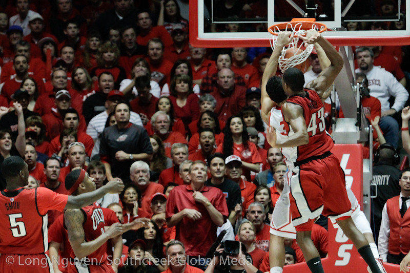 NCAA Basketball 2012- Feb 18- University of Nevada Las Vegas at New Mexico