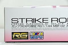 RG 1-144 Strike Rouge Gundam Plamodel EXPO Limited Version Unboxing Photos (5)